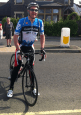 Ian Tallamy cycled from Land's End to John O'Groats